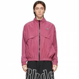 Rhude Pink Flight Jacket RHFW20JA00000005