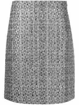 Alberta Ferretti юбка с завышенной талией A01306630