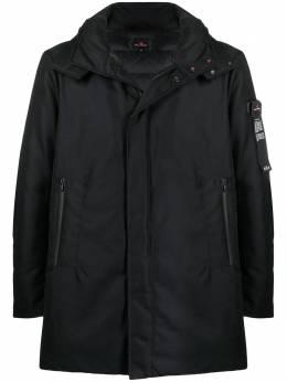 Peuterey пальто миди с капюшоном PEU332101110733