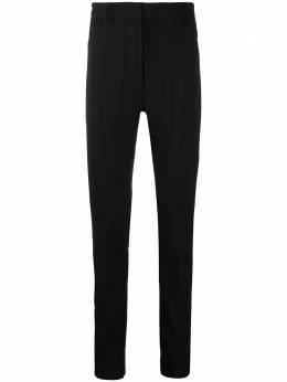 Ann Demeulemeester полосатые брюки скинни тонкой вязки 20083610120