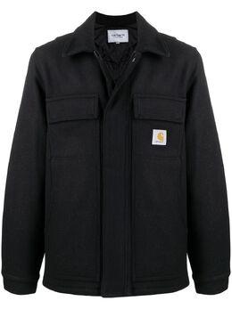 Carhartt Wip короткое пальто с нашивкой-логотипом I028124W1C00