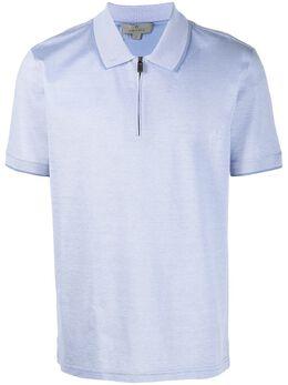 Canali рубашка поло на молнии T0641MJ00351