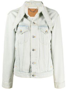 Balenciaga Pre-Owned джинсовая куртка с косым воротником DPVC1120BALJACK