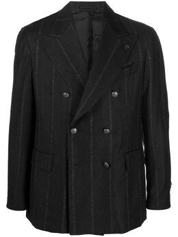 Gabriele Pasini двубортный пиджак в тонкую полоску G16068ZGP16428