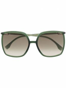 Fendi Eyewear солнцезащитные очки в массивной квадратной оправе FF0431GS