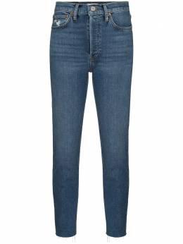 Re/Done укороченные джинсы из винтажного денима 1903WHRAC