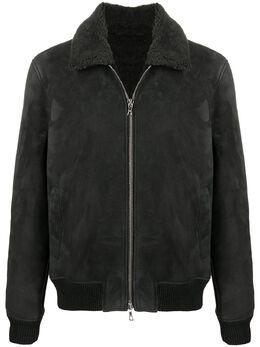 Officine Generale куртка с воротником из овчины W20MOTW552