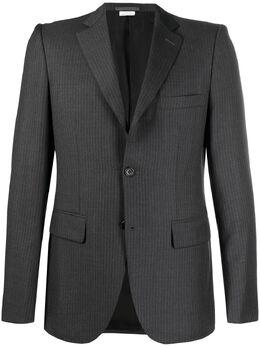 Comme Des Garcons Homme Deux пиджак строгого кроя в полоску DFJ003