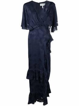 Saloni платье с оборками 1900
