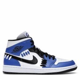 Nike Jordan 1 Mid Sisterhood Sneakers US Size 10W EU Size 42 367695