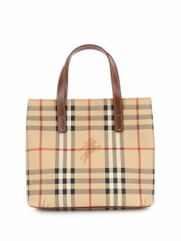 Burberry Pre-Owned сумка-тоут в клетку House Check T0401