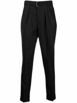 Officine Generale брюки строгого кроя с поясом S21MTLG452