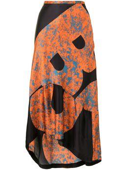 Colville юбка с асимметричным подолом и принтом CVF20412B