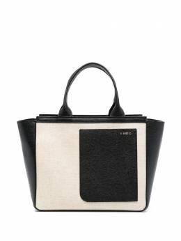 Valextra сумка с накладным карманом WBNL0030733TOC99