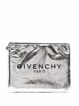 Givenchy клатч с эффектом металлик BK600JK13F