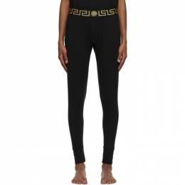 Versace Underwear Black Greca Border Lounge Pants AU100023 A232741