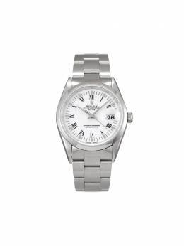Rolex наручные часы Oyster Perpetual Date pre-owned 34 мм 1996-го года 15200