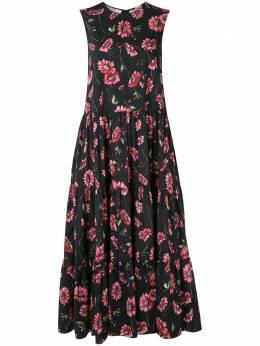 Adam Lippes платье макси с цветочным принтом R21709PP