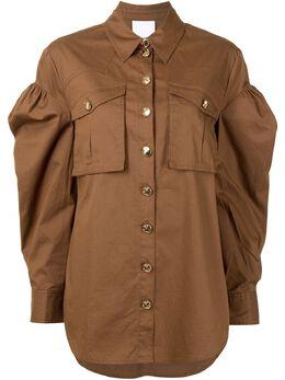 Acler рубашка Dunbar с пышными рукавами AL200782T