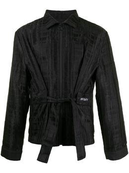 Off Duty жаккардовая куртка-рубашка в клетку ODF20J2248KINNOPLAID