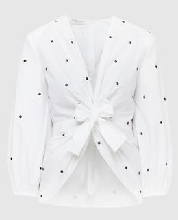 Белая блуза Philosophy Di Lorenzo Serafini 2300006493799