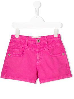 Alberta Ferretti Kids джинсовые шорты French Kiss 022150