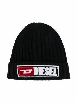 Diesel Kids шапка бини с логотипом 00J4H5KYAP1