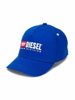 Diesel Kids кепка с вышивкой 'Denim Division' 00J48MKXA77