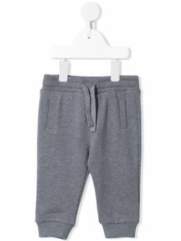 Dolce & Gabbana Kids спортивные брюки с нашивкой DG L1JPT0G7WDJ