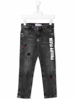 Philipp Plein Junior джинсы средней посадки A19CBDT0202PDE004N
