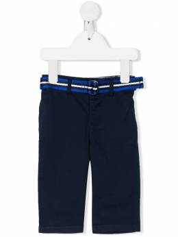 Ralph Lauren Kids брюки чинос кроя слим с поясом 320785694