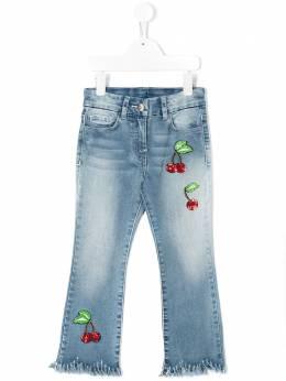 Monnalisa джинсы с пайетками 195412RF5010