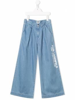 Karl Lagerfeld Kids широкие джинсы Z14114Z04