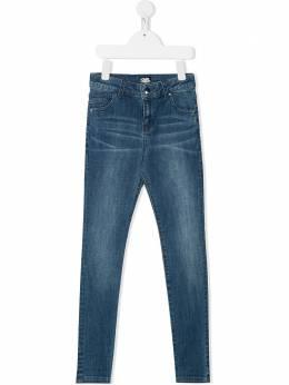 Karl Lagerfeld Kids джинсы кроя слим Z24098