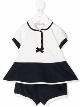 Moncler Kids костюм с рубашкой-поло 8I700108496F