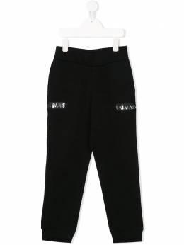 Balmain Kids спортивные брюки с логотипом 6M6707MX270