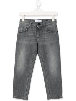 Dondup Kids джинсы с эффектом потертости BP214DS0272B