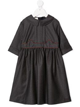 Gucci Kids платье с длинными рукавами 629506XWALM