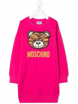 Moschino Kids платье с принтом Toy Bear HHV064LDA16