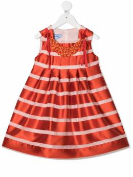 Mi Mi Sol декорированное платье миди MFAB100TS0238