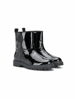 Moncler Enfant лакированные ботинки F29544G7011002SM6