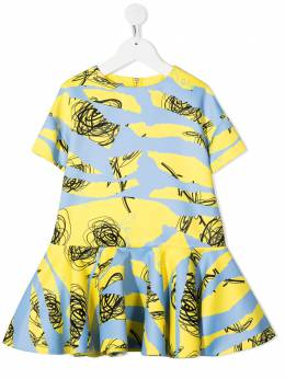 Mi Mi Sol платье с принтом MFAB111TS0195