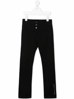 Givenchy Kids брюки кроя слим с логотипом H14099