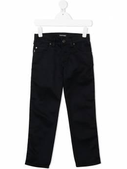 Emporio Armani Kids прямые джинсы средней посадки 6H4J454N4WZ