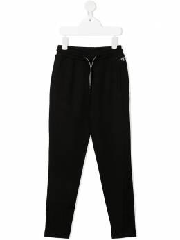 Calvin Klein Kids брюки с кулиской и вышитым логотипом IG0IG00557