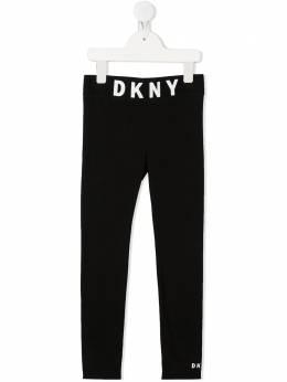 DKNY Kids легинсы с логотипом D3499409B