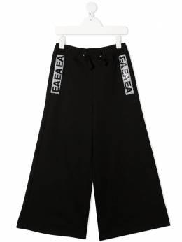 Emporio Armani Kids широкие брюки с логотипом 6H3P103J3MZ