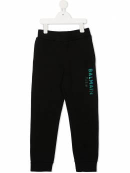 Balmain Kids спортивные брюки с логотипом 6N6637NX300