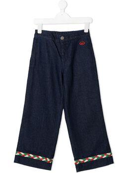 Gucci Kids джинсы широкого кроя 621810XDBDB