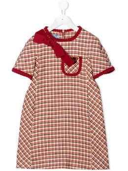 Mi Mi Sol платье в клетку MFAB177TS0352